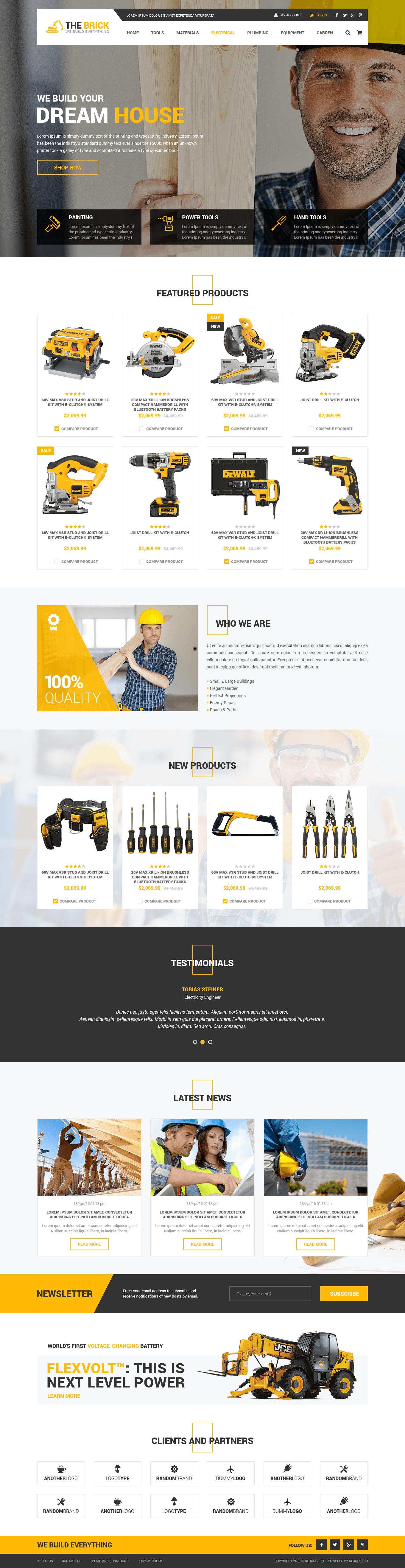 Дизайн на темплейт за онлайн магазин